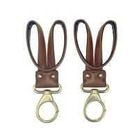 NEW STROLLER CLIPS SET- Toffee